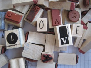 Rubber Stamp Love