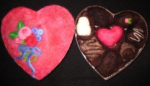 Felted Wool Chocolates