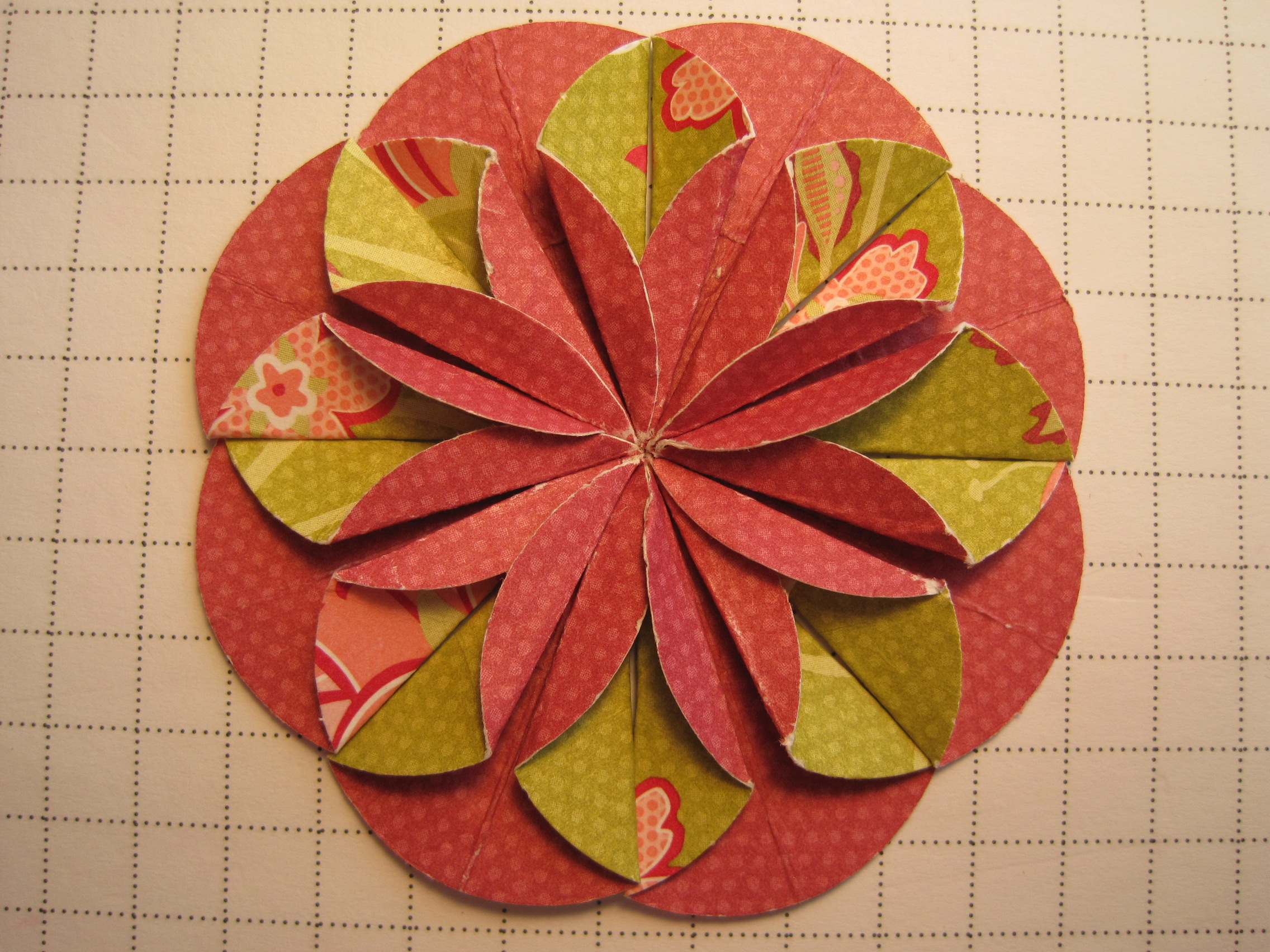 Dahlia fold flower card dianne faw for this card mightylinksfo