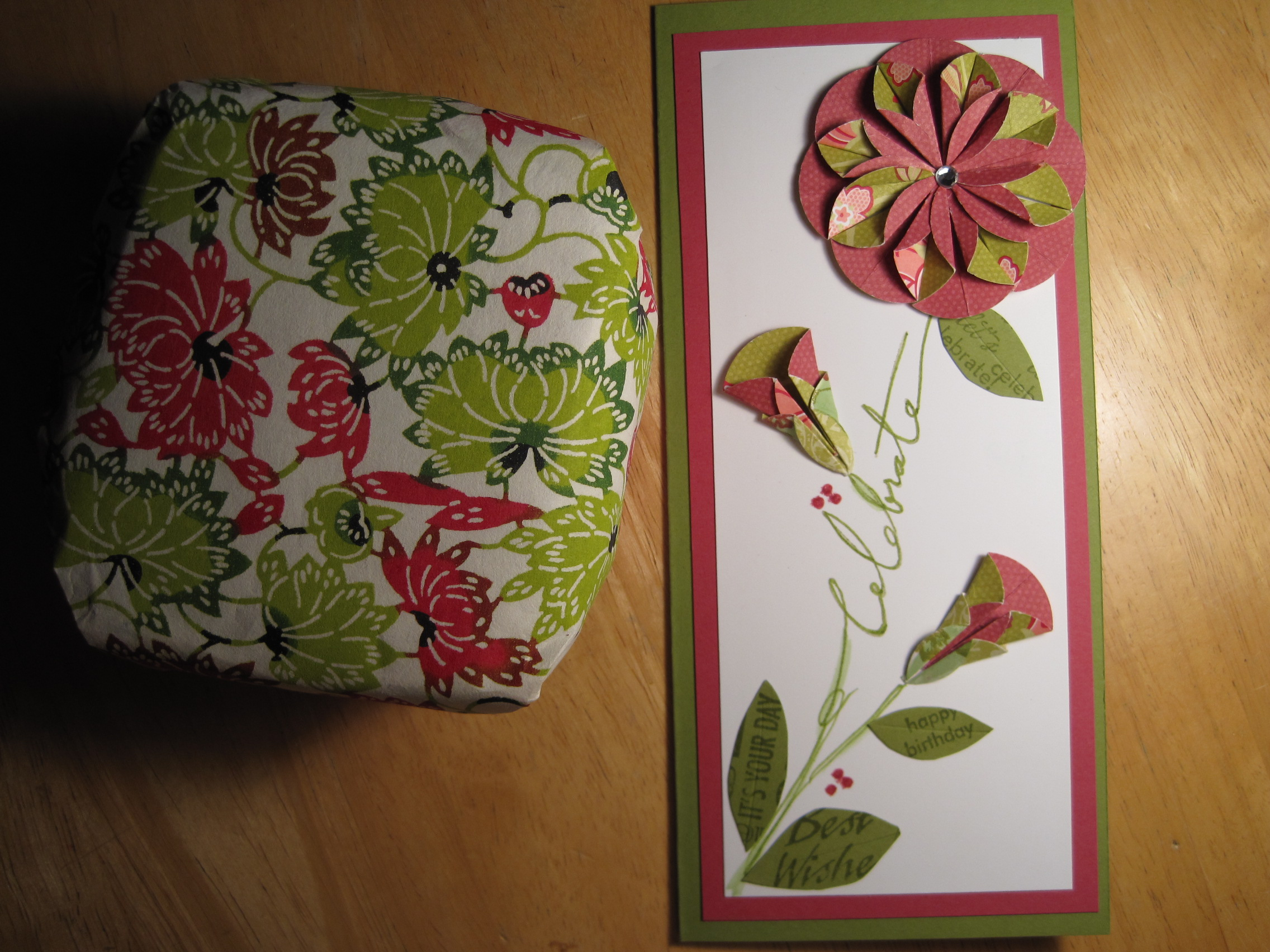 Dahlia fold flower card dianne faw dahlia fold flower card i mightylinksfo
