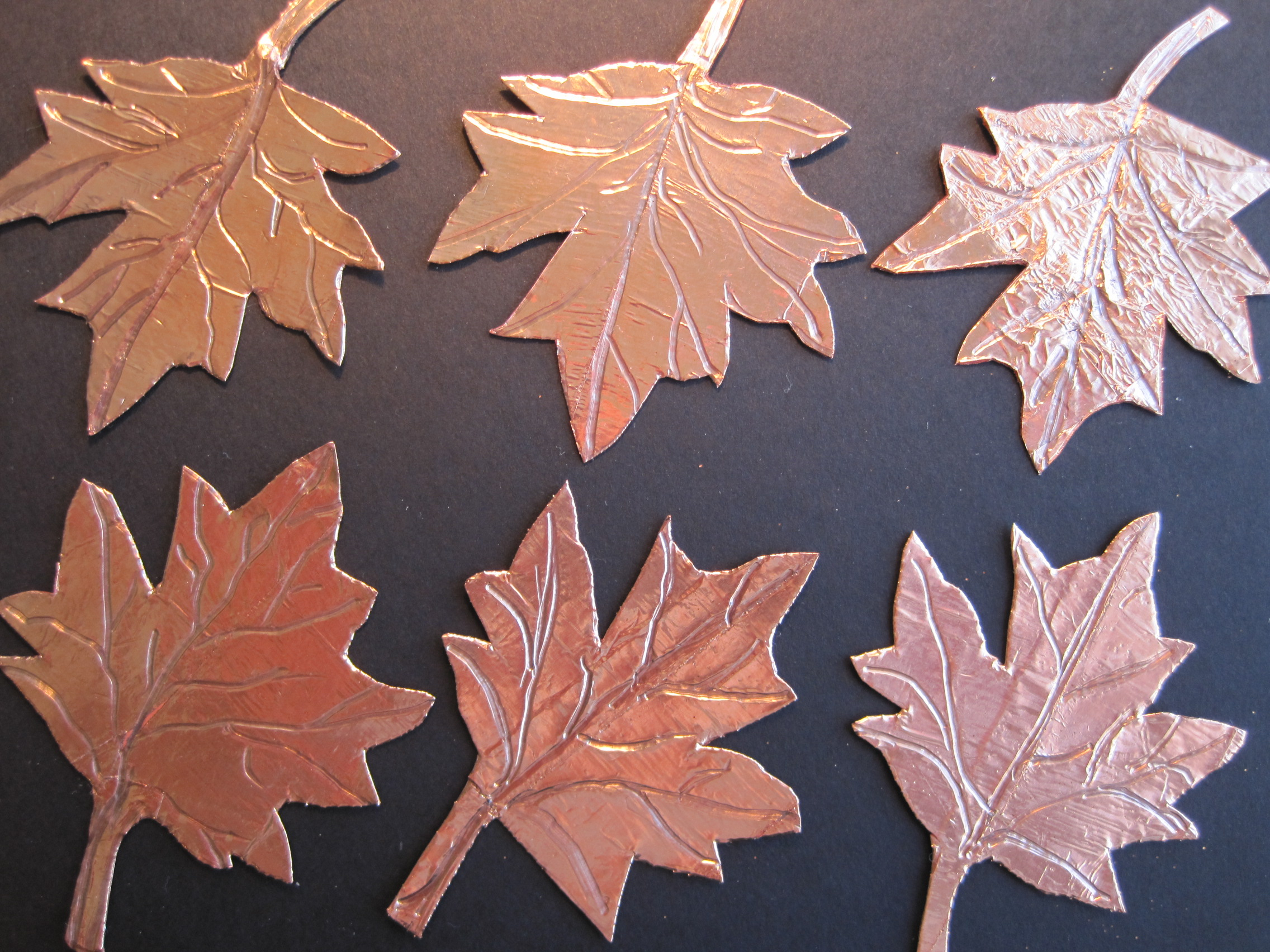 Copper Foil Tape Leaves Dianne Faw