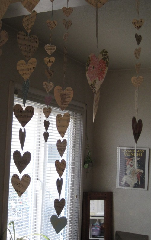 Heart Strings Silhouette