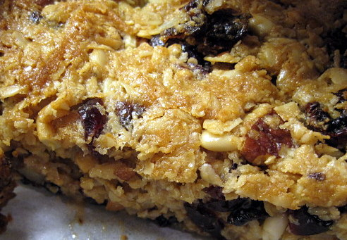 Day 20: Thick, Chewy Granola Bars | dianne faw