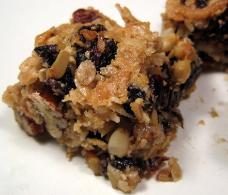 Day 20: Thick, Chewy Granola Bars