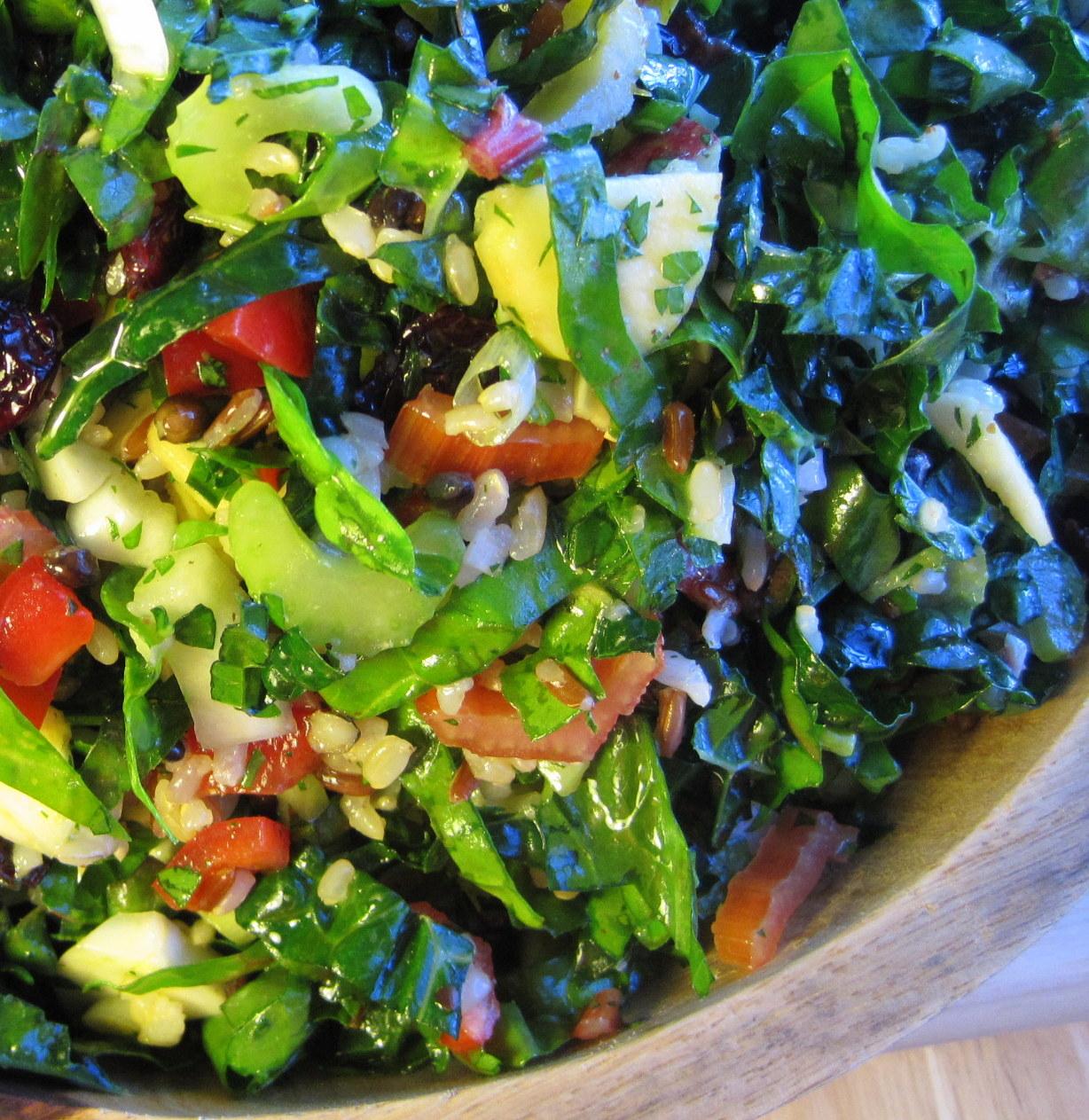 Emerald City Salad   dianne faw