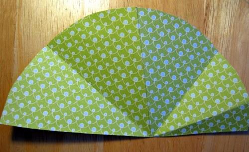 Half Circle with Folds