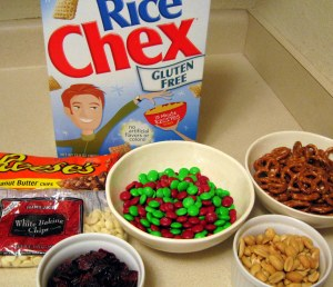 Christmas Crunch Ingredients