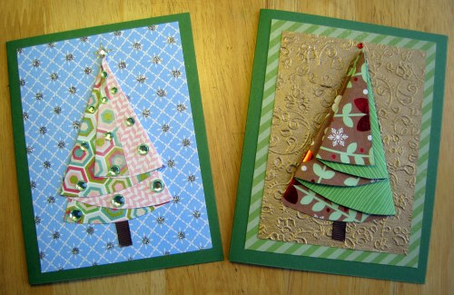 Two Tree Cards