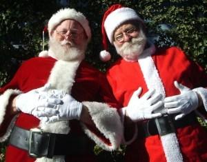Santa Mike & Papa