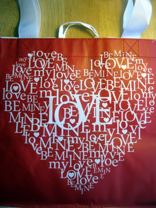 Valentine Shopping Bag