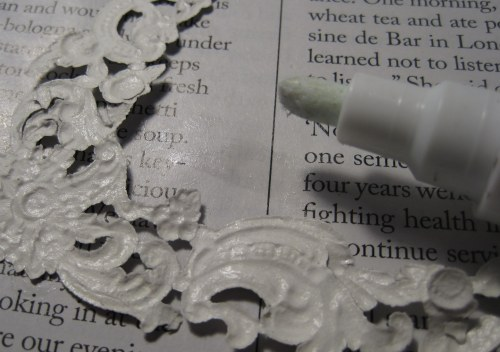 Glue on Page