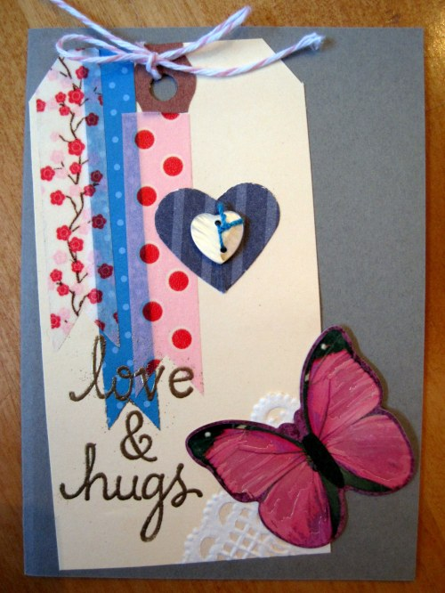 love & hugs tag
