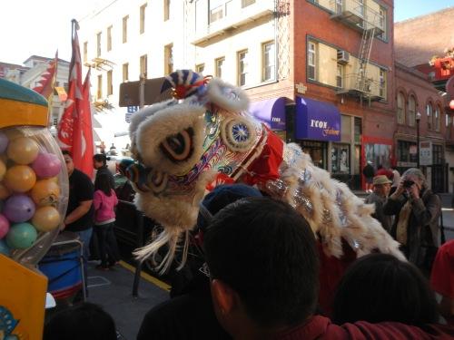 Lion Dancers I