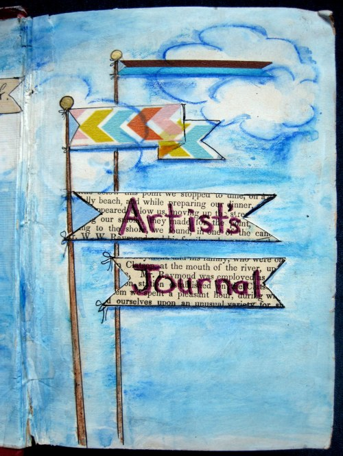 Cover Page Artist's Journal
