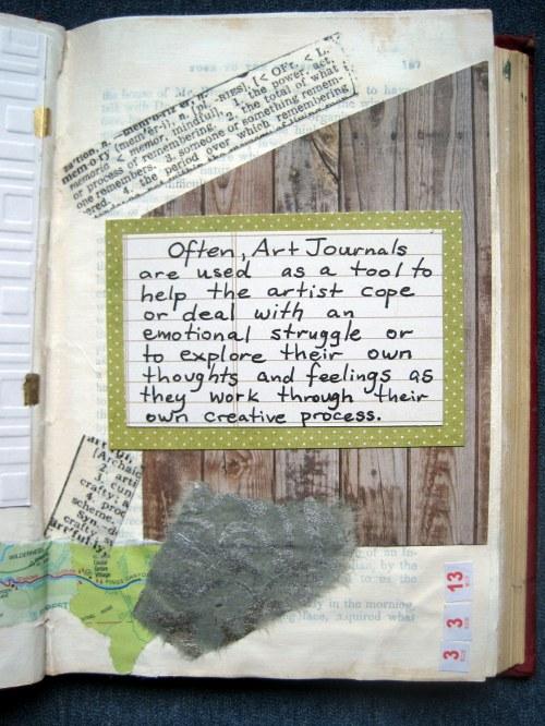 Art Journal as Tool