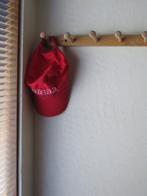 Hat in the hall