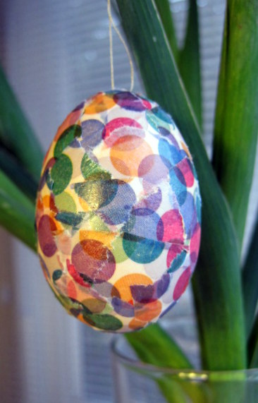 Washi Tape Easter Egg
