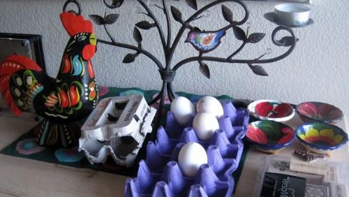 Eggs on Dresser