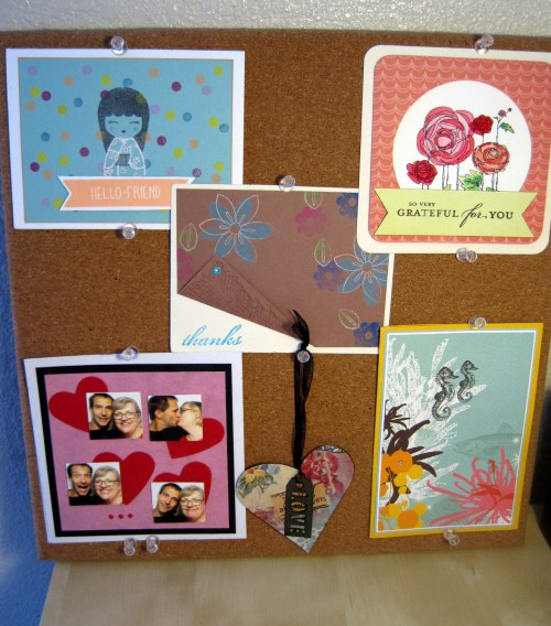 Cork Board Cards