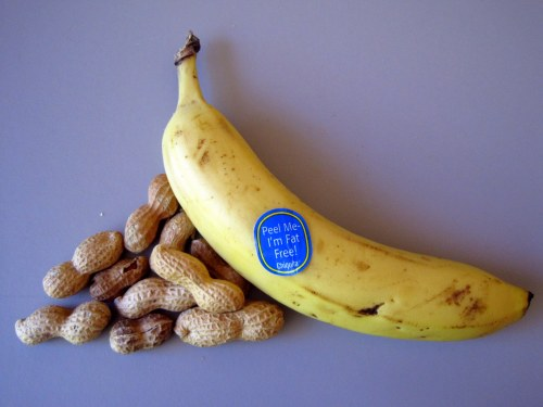 Banana & peanuts