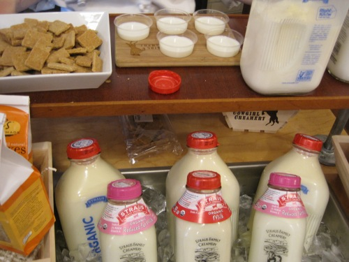 Milk & Oatcakes