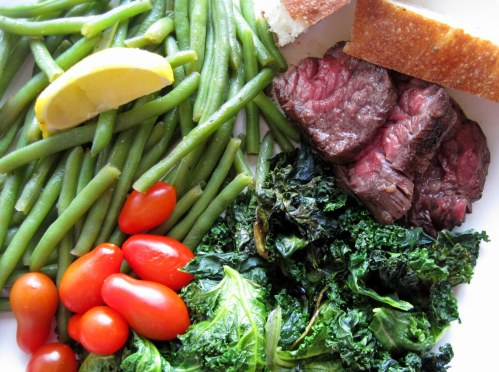 Steak & Greens