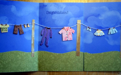 Inside of clothesline card