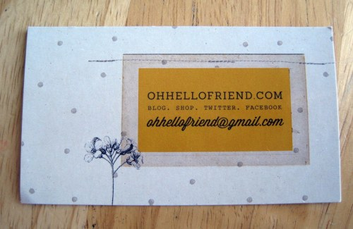 Business Card OHF
