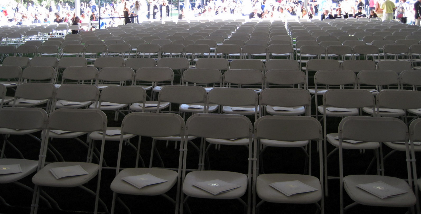 Chairs for Grads