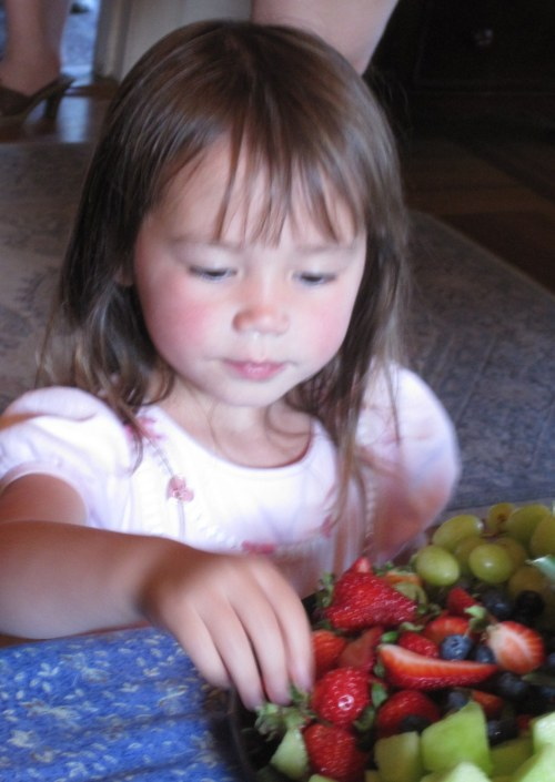 Little Fruit Eater