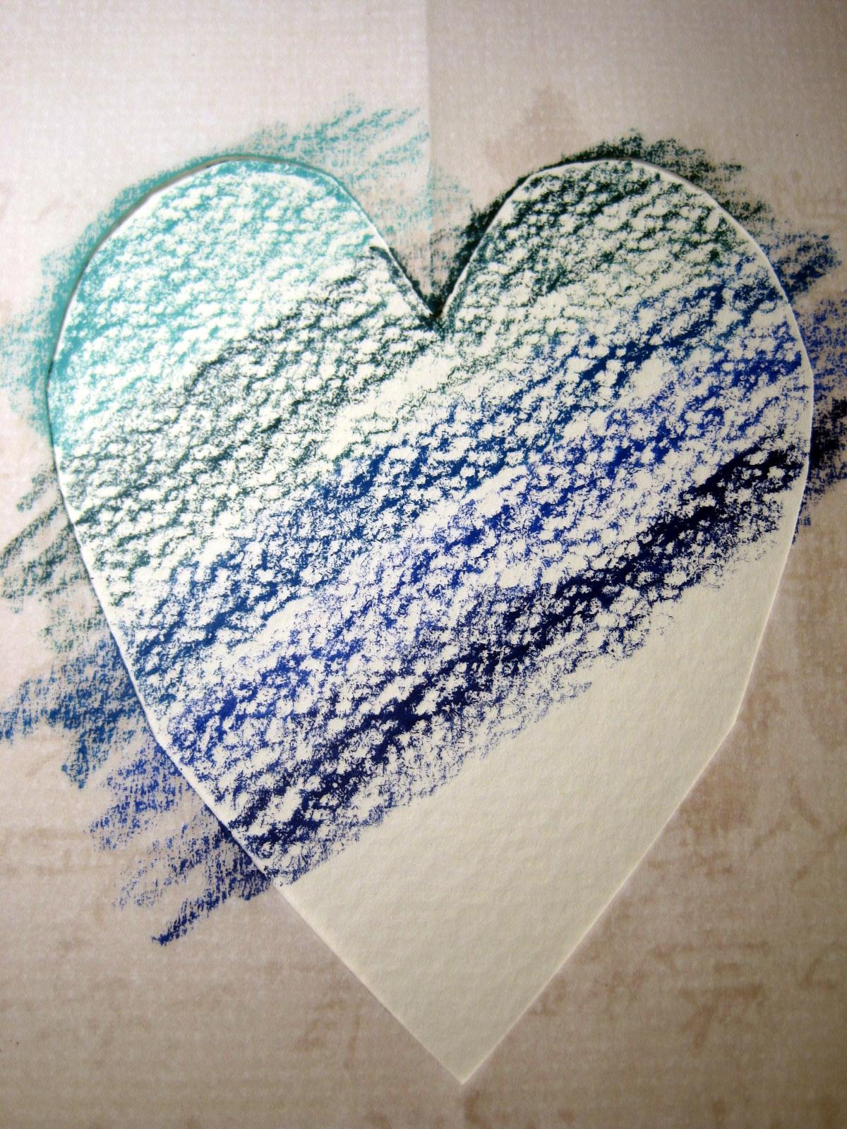 Crayoned Heart
