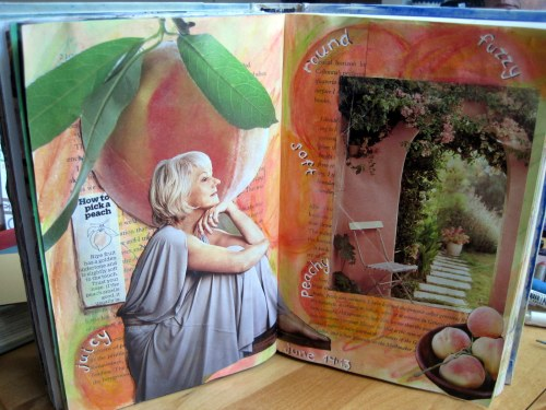 Peachy Open Book