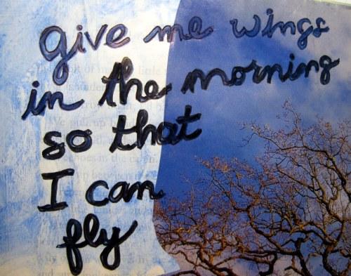 Lyrics Give Me Wings