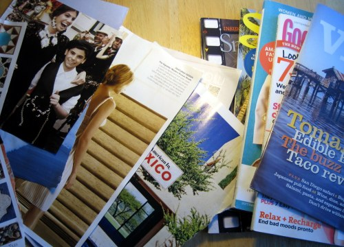 Magazines and Pages