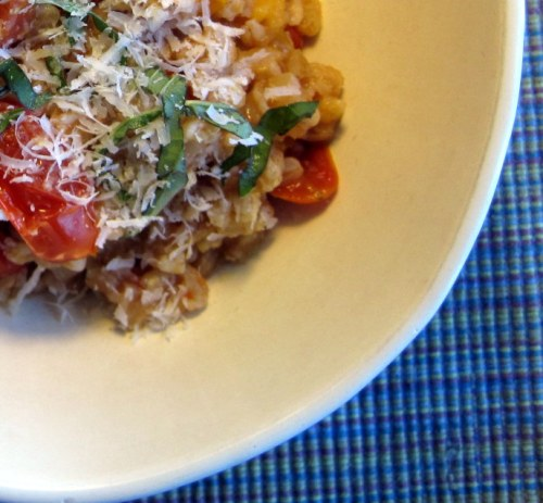 Farro and Tomatoes
