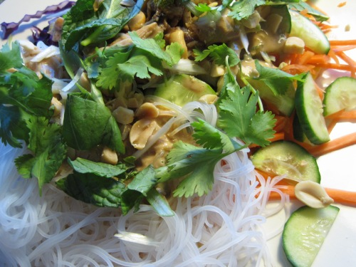With Rice Noodles