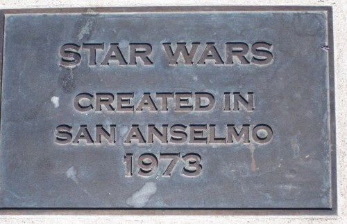 Star Wars Created in San Anselmo