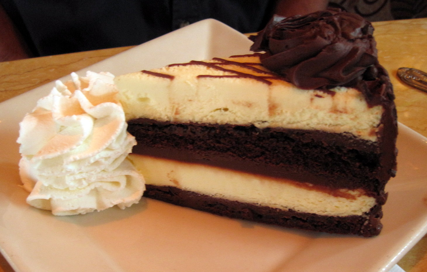 cheesecake factory chocolate cake celebrating national cheesecake day dianne faw 2767