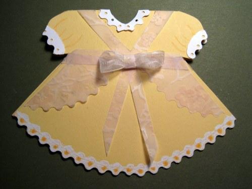 Back of Yellow Dress