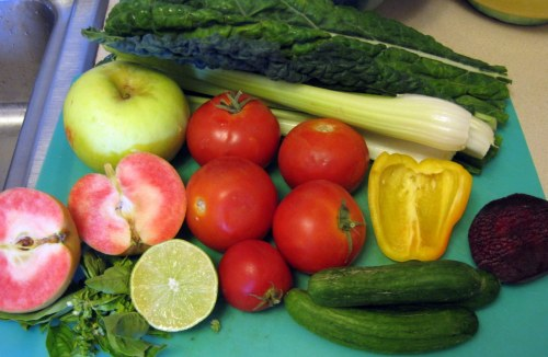 Fruit & Veg for Juice