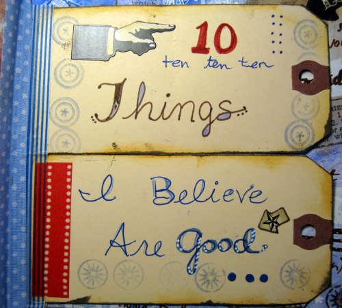 10 Things I Believe