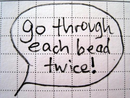 Each Bead Twice