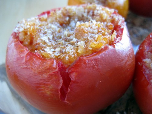 Rice-Stuffed Tomato