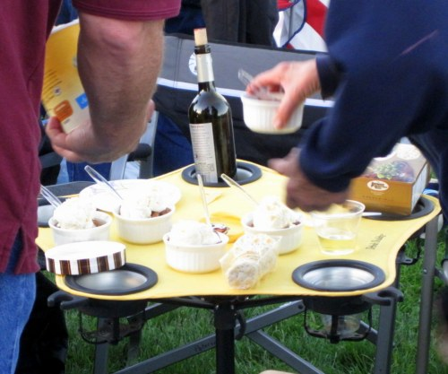 picnic dessert