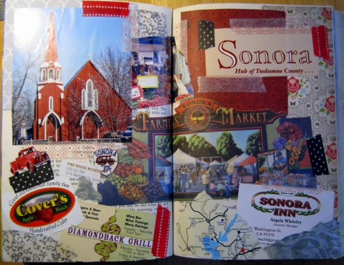 Sonora Art Journal Page