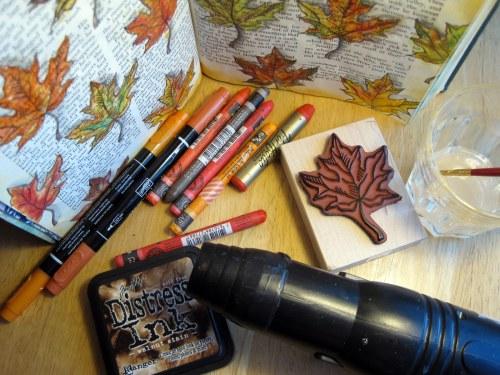 Fall Colors Mixed Media
