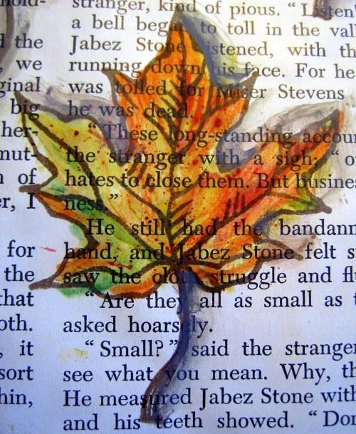 Stamped Leaf