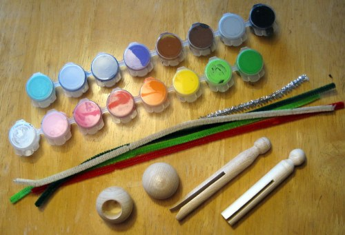 Clothespin Doll Supplies