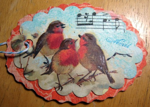 Robins Singing Tag