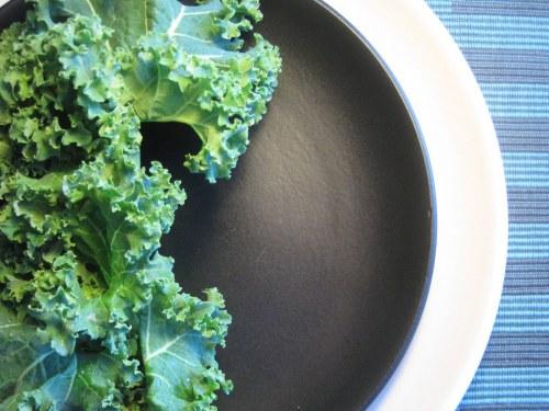 Kale on Plates